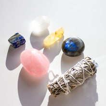 Load image into Gallery viewer, New Home Healing Crystal Gift Sacred Bundle