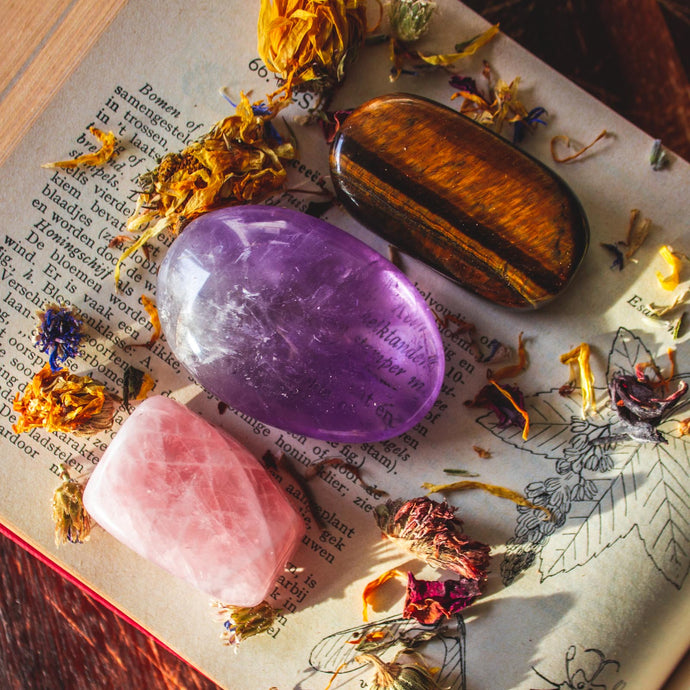 Positive Life Changes Sacred Crystal Bundle