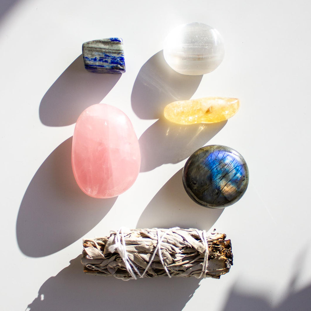 New Home Healing Crystal Gift Sacred Bundle