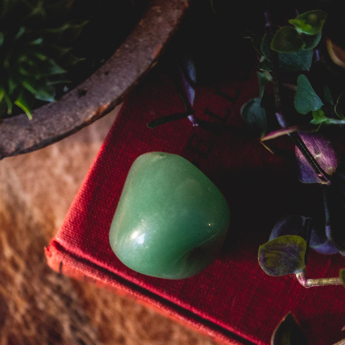 Ethical Aventurine Healing Crystal for Prosperity, Success, and Luck