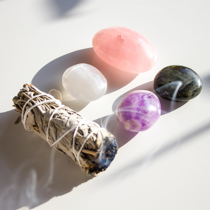Anti-Anxiety Healing Crystal Gift Sacred Bundle