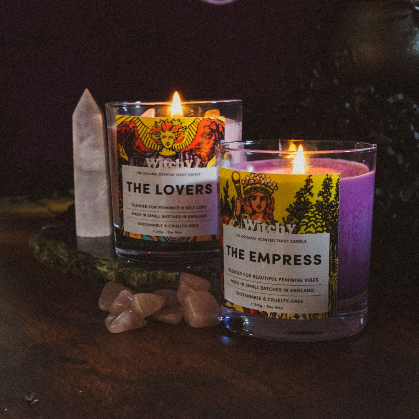 The Empress & The Lovers Candle Bundle