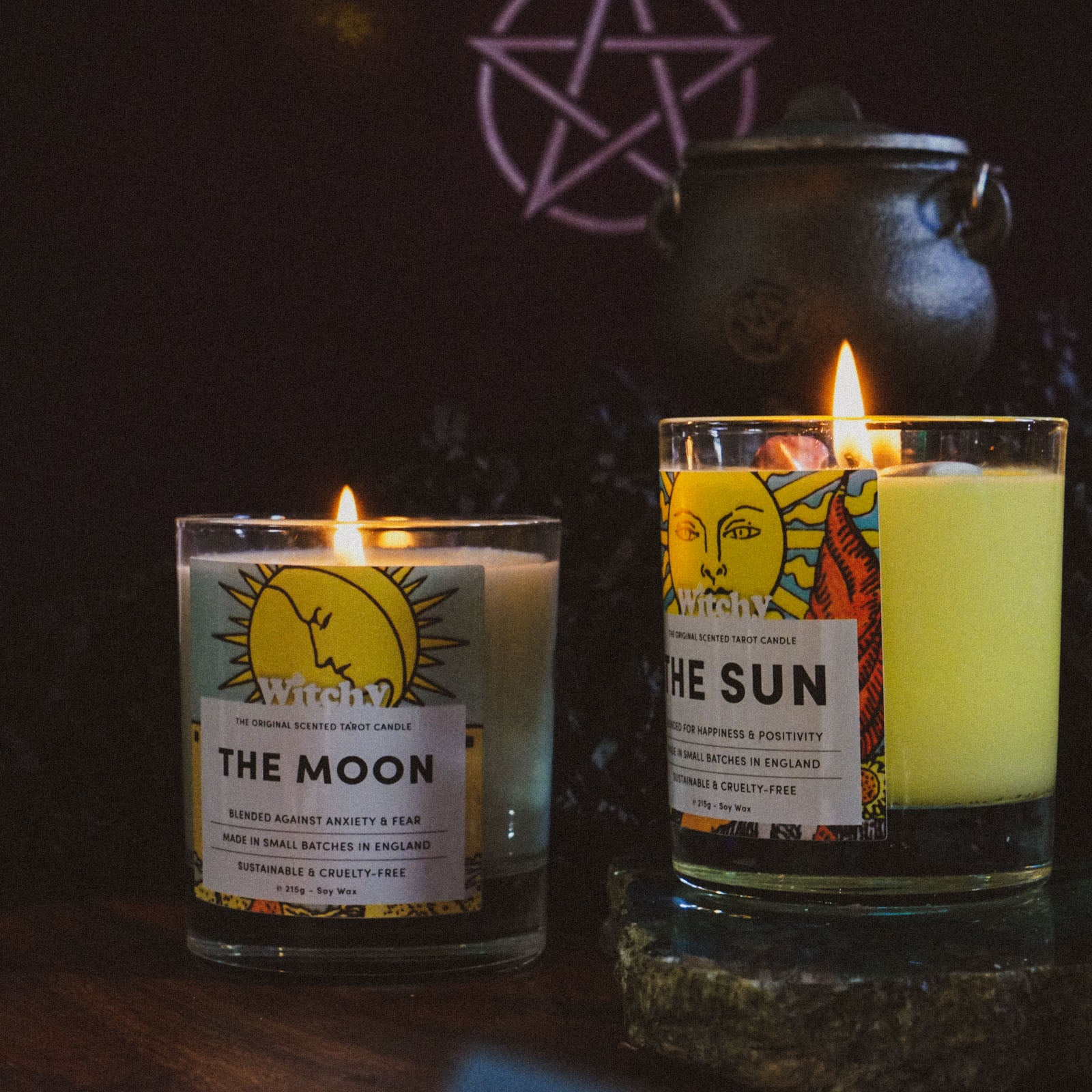 The Sun & Moon Candle Bundle