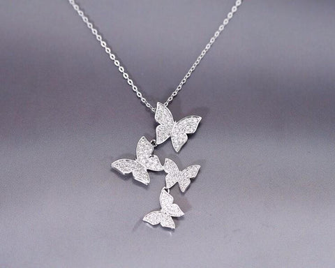 """Joy of the Butterfly"" Necklace - Inspired Genie"