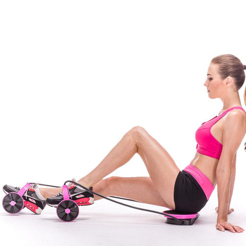 Abdominal Wheel Ab With Mat Roller - Inspired Genie
