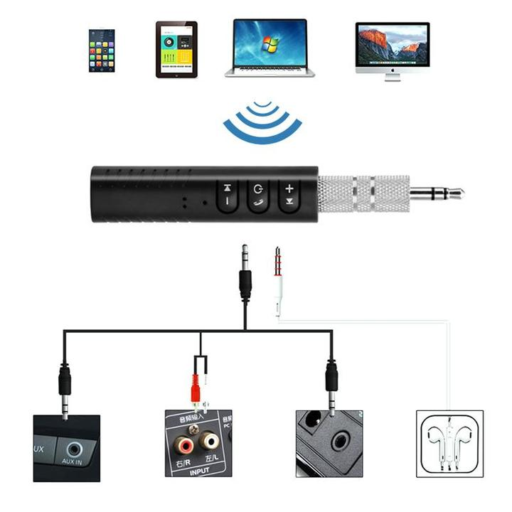 Aux bluetooth adapter auto