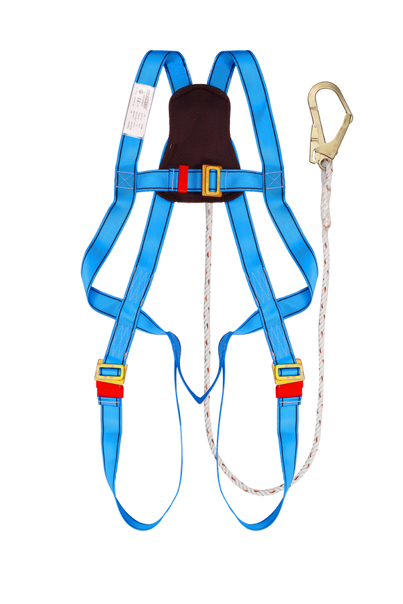 Full Body Harness Built-in Lanyard & Large Hook