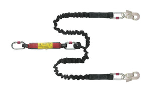 Twin Spring Lanyard with Energy Absorber