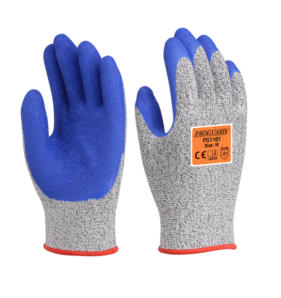 RAZOR X5 Cut Resistant Latex Coated Glove