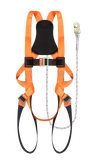 Full Body Harness Built-in Lanyard