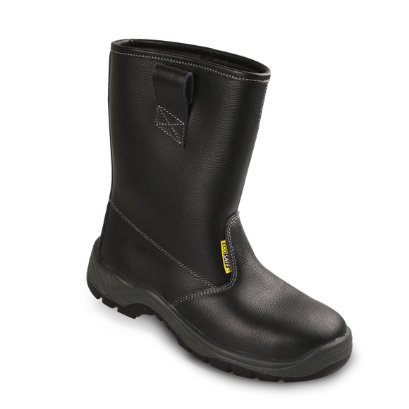 High-cut Rigger Boots