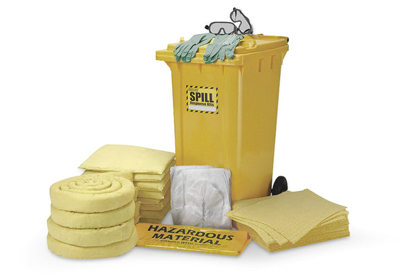 240 Litre Dispenser Spill Kit Cart - Chemical Only