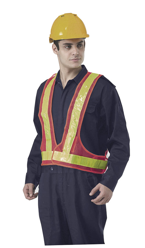 High Visibility LED Safety Vest