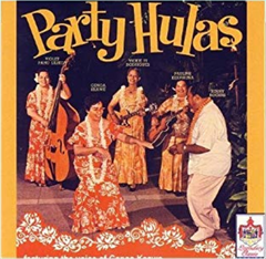 "Genoa Keawe's ""Party Hulas"" - Original LP Cover"