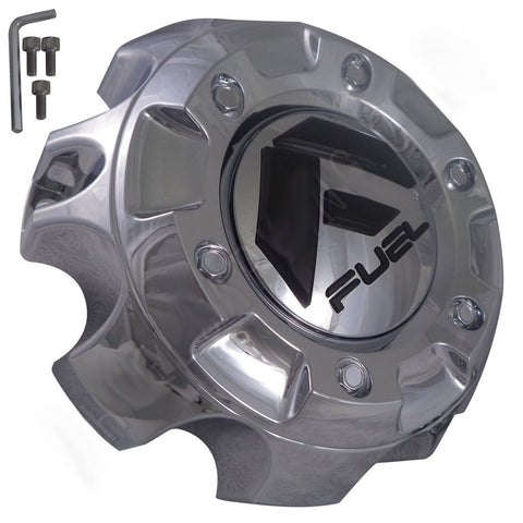 Fuel Offroad Wheels Chrome Custom Wheel Center Cap # 1001-59 / M-444 (1 CAP)