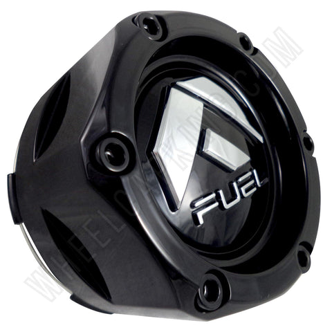 Fuel Offroad Wheels Gloss Black Custom Wheel Center Caps # 1003-48GB (1 CAP)