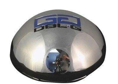 Double G # 008-K86 Chrome Custom Wheel Center Cap (4 CAPS)