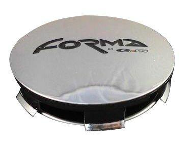FORMA Wheels GIOK75-1 Chrome Custom Wheel Center Caps (4 CAPS)
