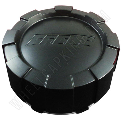 Eagle Alloys Wheels Matte Black Custom Wheel Center Cap Caps Set 4 # 3299 AEWC / 3299 08 / 3299-08