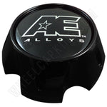 American Eagle Wheels Gloss Black Custom Wheel Center Caps Set of 1 # 3311 / 3311 02 / AEWC