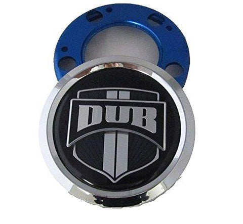 Dub Wheels Chrome Spinner Wheel Center Caps # 1002-01 (1 CAP)