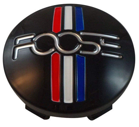 Foose Wheels 1003-41 / M-858 Custom Center Cap Gloss Black (Set of 4)