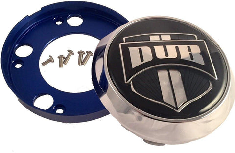 DUB Wheels 'Floater' Chrome Custom Wheel Center Cap # 1002-35-C (1 CAP)