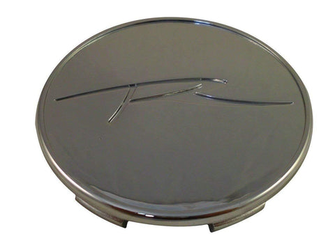 Raceline Wheels Chrome Custom Wheel Center Caps # 89-0102-R (1 CAP)