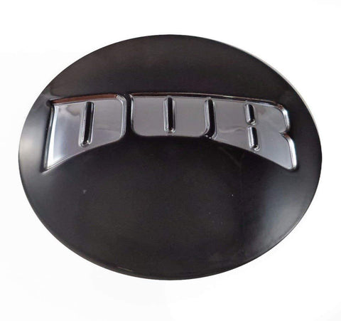 Dub Wheels Satin Black Custom Center Cap # 1001-47-2 / S712-09 (1 CAP)