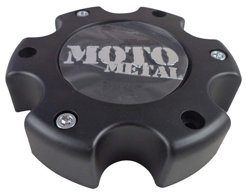 Moto Metal # 845L145 Wheels Flat Black Custom Wheel Center Caps NEW! (4 CAPS)