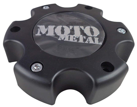 Moto Metal # 845L145 Wheels Flat Black Custom Wheel Center Caps NEW! (1 CAP)