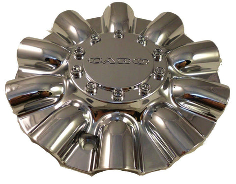 Cabo Wheels Chrome Custom Wheel Center Cap # C-177-2 (4 CAPS)