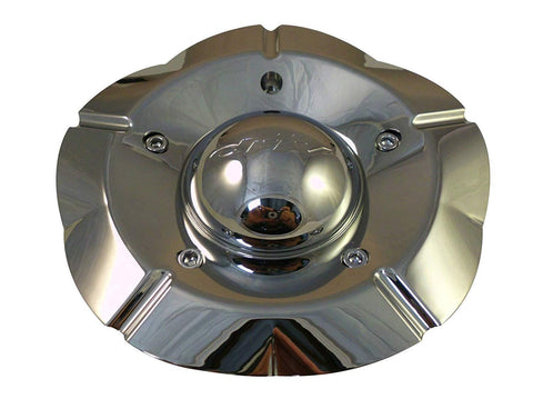 DRIV # 8950-15-A / F206-03 Chrome Custom Wheel Center Cap (4 CAPS)