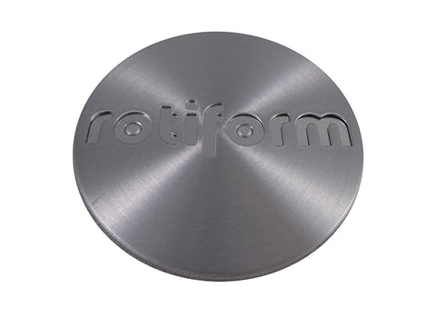 RotiForm Silver Custom Wheel Center Caps # 1003-40M Silver Emblem (4 CAPS)