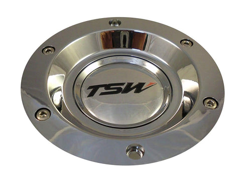 TSW Wheel PC-E68-2 Center Cap Chrome (4 CAPS)