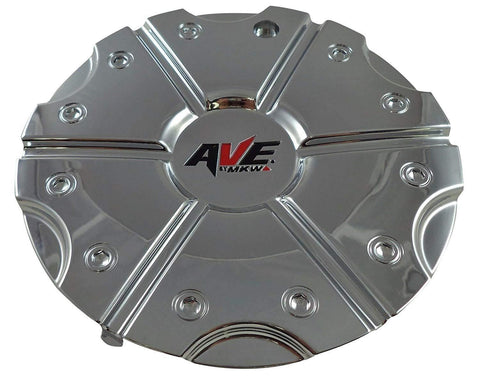 AVE MKW C-027-1 Chrome Wheel Center Cap (QTY 1)