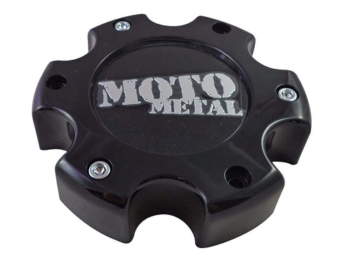 Moto Metal # 845L145 Wheels Gloss Black Custom Wheel Center Caps NEW! (4 CAPS)