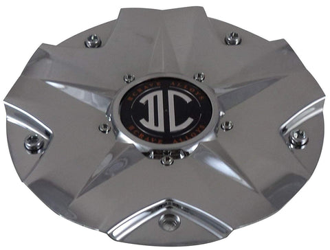 2 Crave C518702 Wheels Chrome Center Caps (4 CAPS)