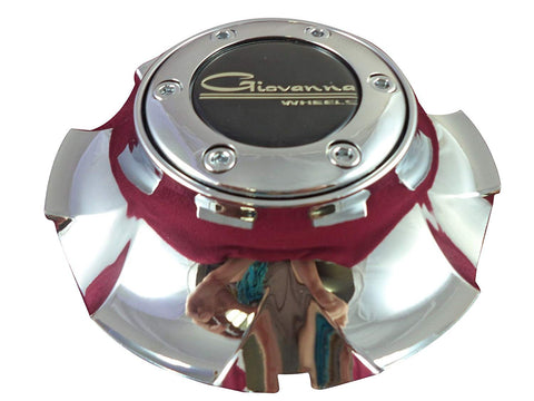 Giovanna Wheels Chrome Custom Wheel Center Cap # 136C (1 CAP)