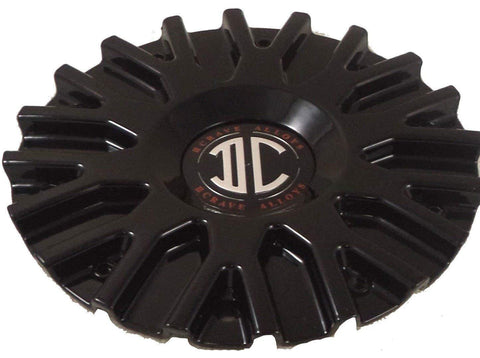 2 Crave Wheels Black Wheel Center Caps QTY 1 # C106101-2295 CAP