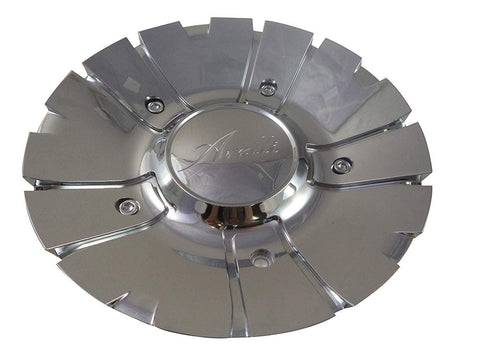 Arelli # 250-100C Chrome Custom Wheel Center Cap (4 CAPS)