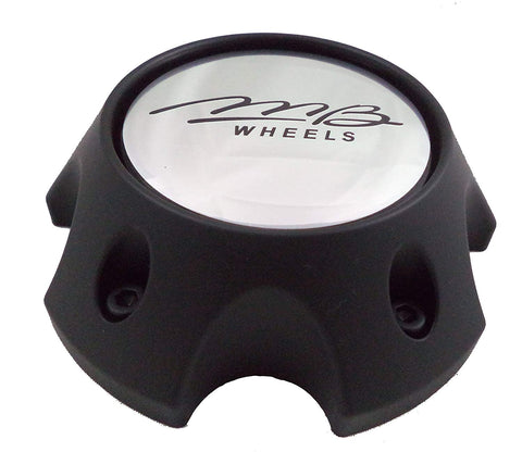 MB Motoring Black Custom Wheel Center Caps # BC-787S NEW! (set of 4)