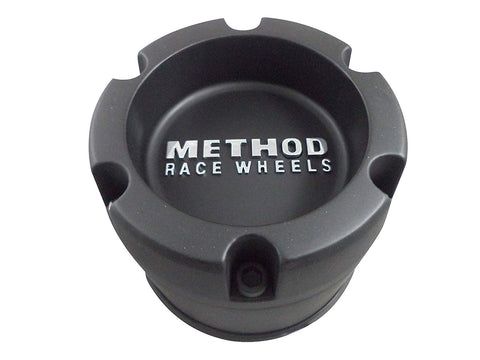 METHOD Matte Black Custom Wheel Center Cap # 124B114-1-S1 6x139 PCD (4 CAPS)