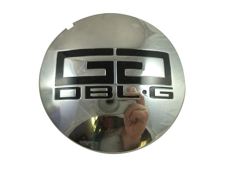 Double G # 126K86A / 126K86A-C1 Chrome Custom Wheel Center Cap (1 CAP)