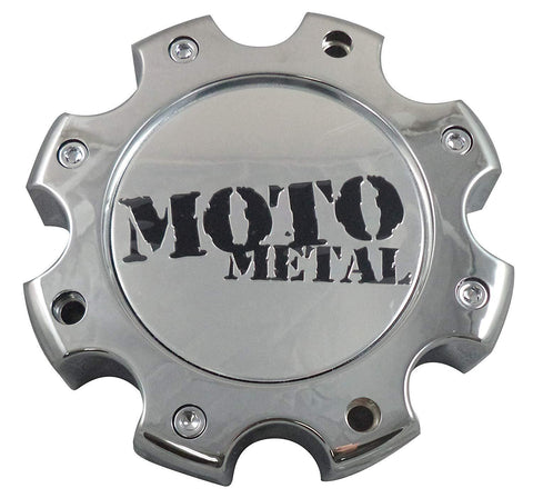Moto Metal 845L170R Wheels Chrome Custom Wheel Center Caps NEW! (4 CAPS)