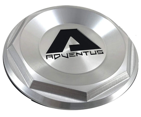 Adventus SILVER Custom Wheel Center Cap # 1937K68-S1 (1 CAP)