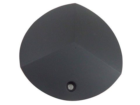 Cabo Wheels Flat Black Custom Wheel Center Cap # C61701-CAP (1 CAP)