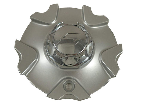 SAACHI # 51921875F-1 / 90051875F-1 Custom Wheel Center Cap SILVER (1 CAP) NEW!