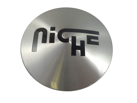Niche Wheels M-731 Chrome Custom Wheel Center Caps (4 CAPS)