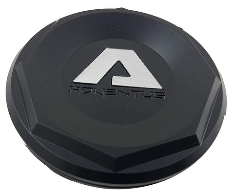 Adventus Black Custom Wheel Center Cap # 1937K68-S3 (1 CAP)